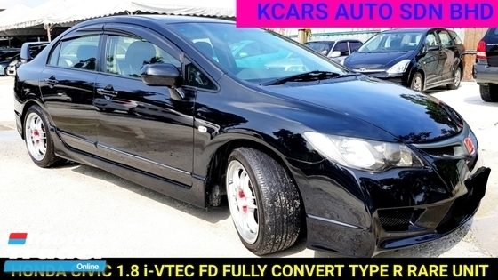 2011 HONDA CIVIC 1.8S-L FULLY CONVERT TYPE R