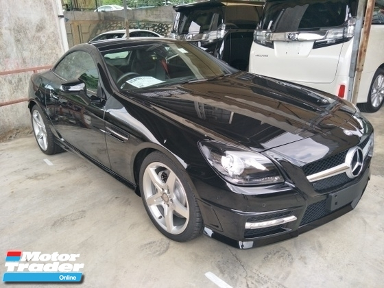 2015 MERCEDES-BENZ SLK 200 1.8 AMG UK PANAROMIC ROOF SPEC