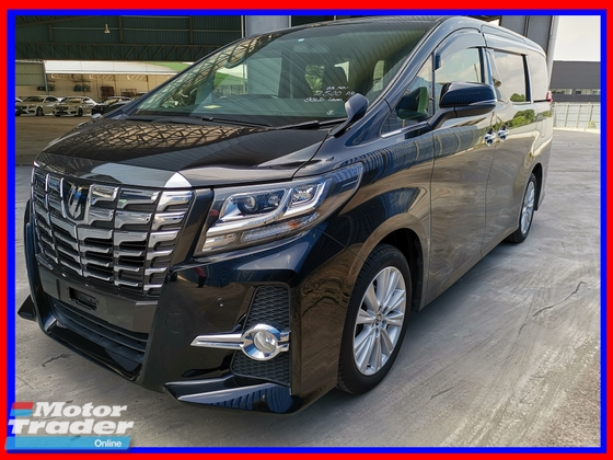 2015 TOYOTA ALPHARD 2.5 SA LOW MILEAGE/TOP CONDITION - UNREG -