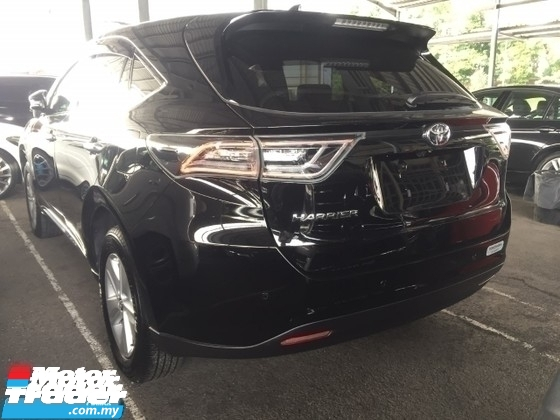 2016 TOYOTA HARRIER 2.0 PREMIUM FULLSPEC.UNREGISTER.TRUE YEAR MADE CAN PROVE.PANAROMIC ROOF.POWER BOOT.PRE CRASH AUTO BRAKE.360 SURROUND CAMERA.LED LIGHT.ELECTRIC SEAT WITH LEATHER.FREE WARRANTY N MANY GIFTS