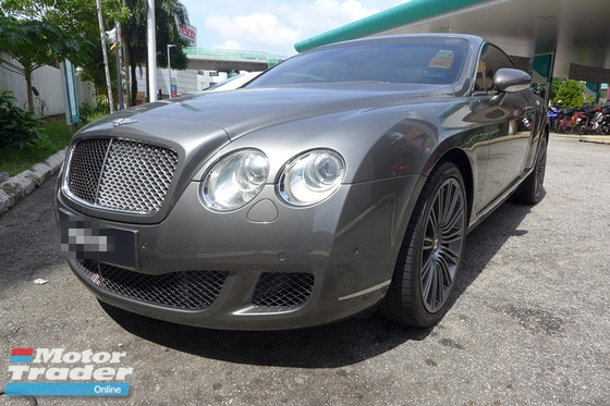 2008 BENTLEY GT GT SPEED