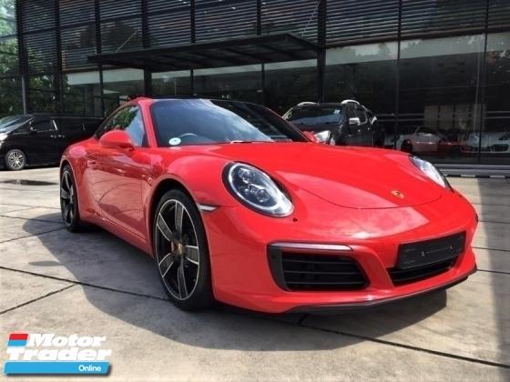 2018 PORSCHE 911 CARRERA S 3.0 Porsche UK Approved 991 SR LED Mega Specs