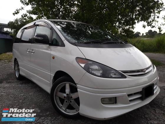2003 TOYOTA ESTIMA Toyota ESTIMA 2.4 AERAS (A) 8 SEAT,DVD,HID,N/TYRE