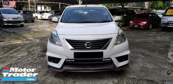 2015 NISSAN ALMERA LIMITED NISMO SPEC 1.5 FULL SPEC  FULL LOAN VIOS CITY