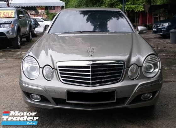2008 MERCEDES-BENZ E-CLASS E200 AVANTGARDE 1.8 KOMPRESSOR SPORT VVIP OWNER