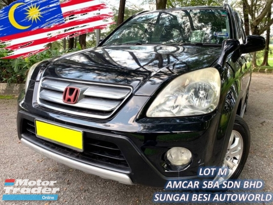 2006 HONDA CR-V 2.0 I-VTEC (A) NEW FACE LIFT LEATHER LIMITED