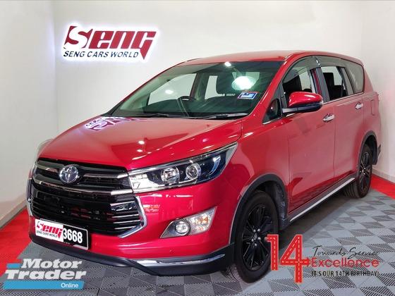 2018 TOYOTA INNOVA Toyota Innova 2.0 X-Spec ORI YEAR U/Warranty LIKENEW