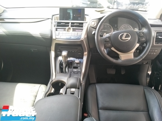 2014 LEXUS NX 2.0 TURBO PREMIUM BLACK EDITION MEMORY NAPPA LEATHER SEATS POWER BOOT 360 SURROUND CAMERA