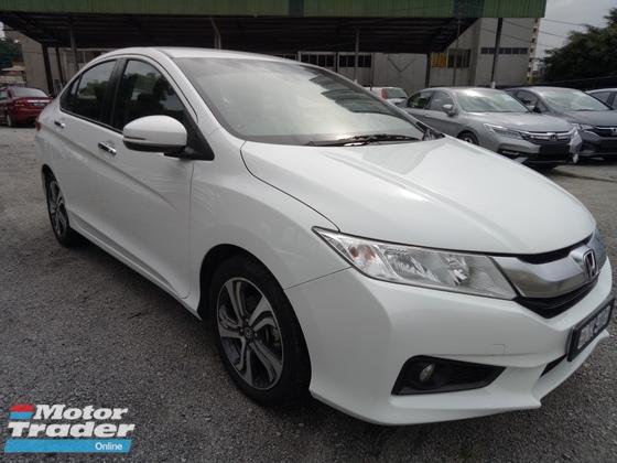 2015 HONDA CITY 1.5 V (A) I-Vtec High Spec Full Honda Service