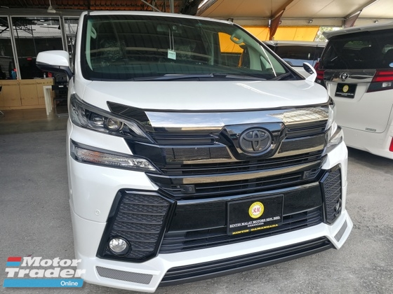 2015 TOYOTA VELLFIRE 3.5ZAG TRD SPEC TIP TOP CONDITION UNREG 2015