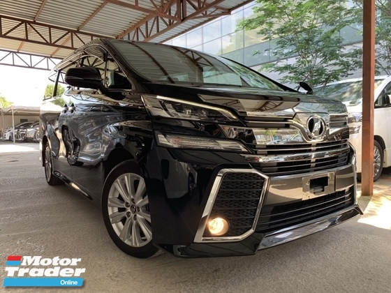 2015 TOYOTA VELLFIRE 2.5 ZA 2 POWER DOOR 7 SEATS AUTO CRUISE CAMERA UNREG 1 YEAR WARRANTY