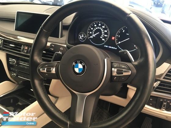 2015 BMW X6 BMW X6 3.0 M50D SUV SUN ROOF FULL VIEW CAMERA HARMAKARDON SYSTEM