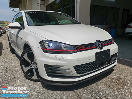 2014 VOLKSWAGEN GOLF GTI MK7 DCC 5 MODE UNREG