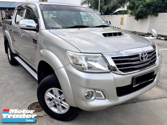 2012 TOYOTA HILUX  3.0 (AT) 4x4 CAR KING TIP TOP CONDITION