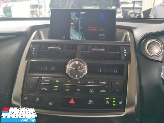 2014 LEXUS NX 200 TURBO F SPORT SPEC MEMORY SEATS SURROUND CAMERA FREE WARRANTY