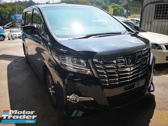 2017 TOYOTA ALPHARD 2.5SC JBL 360 CAMERA PRE CRASH SUNROOF UNREG