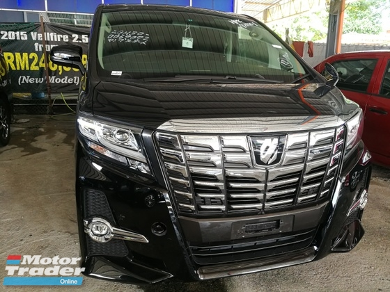 2016 TOYOTA ALPHARD 2.5 SC JBL SOUND SYSTEM AUTO PARKING UNREG 2016
