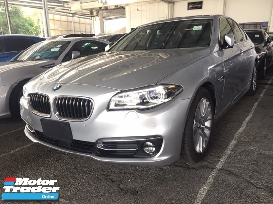 2015 BMW 5 SERIES 528I FACELIFT TURBO.UNREGISTER.TRUE YEAR MADE CAN PROVE.JAPAN.MEMORY SEAT.LEATHER.AUTO BRAKE SYSTEM.LANE ASSIST.REVERSE CAMERA.XENON LAMP.SPORT RIM.FREE 1 YEAR WARRANTY N MANY GIFTS