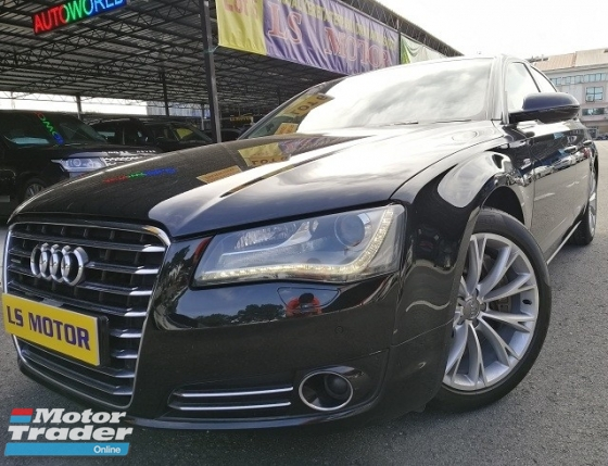 2010 AUDI A8 4.2 V8 FSI (A) 372Hp Tip top Condition Like New- VIEW TO BELIEVE - NEW CAR CONDITION - SELDOM USE - FULL SERVICE RECORD - 4NEW TYRE -FULL LOAN -