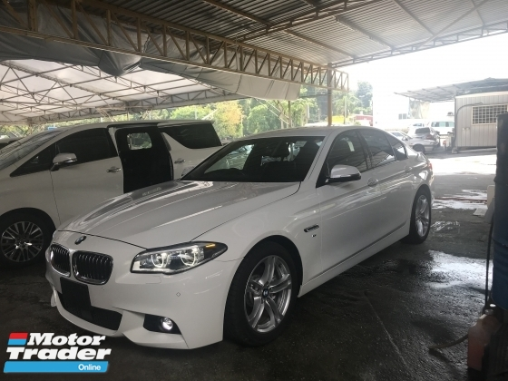 2016 BMW 5 SERIES 520I M SPORT FACELIFT 2016 JAPAN 2.0 TWIN POWER TURBO PRICE NO SST NO SST