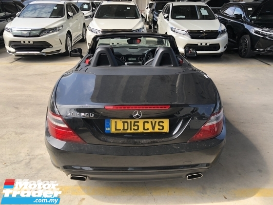 2015 MERCEDES-BENZ SLK Unreg Mercedes Benz SLK200 1.8 AMG Turbo Convetible Top 7G