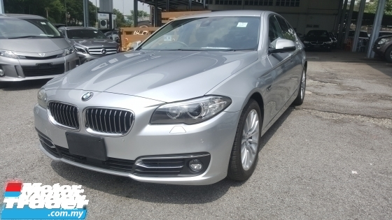 2014 BMW 5 SERIES 520i Luxury Package Unreg 1 YEAR WARRANTY