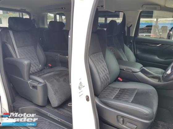2017 TOYOTA ALPHARD 2017 Alphard 2.5 SC Pilot Seat Power Boot Unregister for sale
