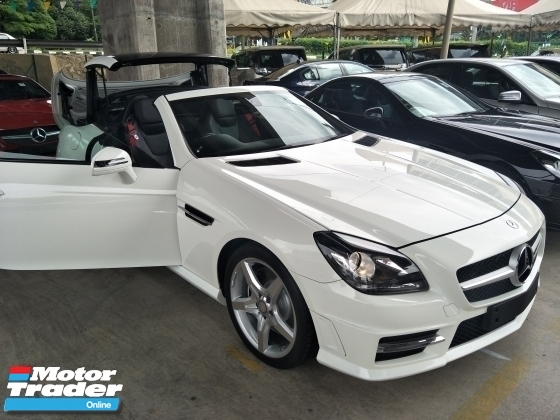 2015 MERCEDES-BENZ SLK 1.8 AMG PANAROMIC WHITE UK EDITION