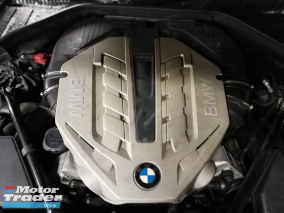 BMW F02 750I N63 twin turbo