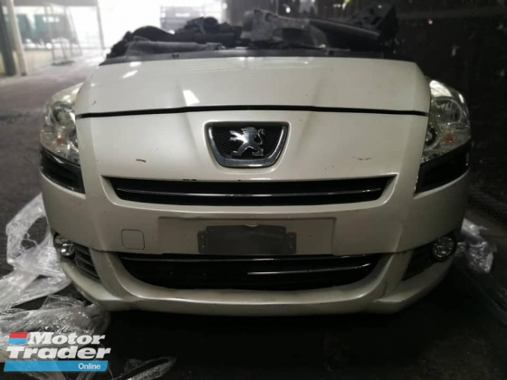 Peugeot 5008 1.6 turbo half cut