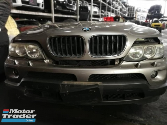 BMW X5 E53 facelift 3.0 half cut
