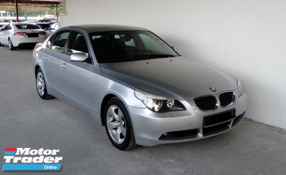 2005 BMW 5 SERIES 525i 2.5 iDrive Double Vanos Facelift Spec