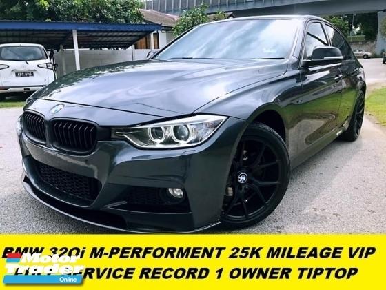 2015 BMW 3 SERIES 320I M-PERFORMANCE 25K SUPER LOW MILEAGE FULL SERVICE RECORD AT BMW MALAYSIA
