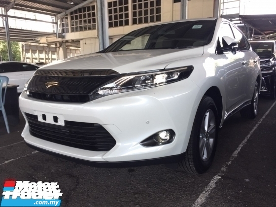 2017 TOYOTA HARRIER 2.0 PREMIUM FULLSPEC.UNREGISTER.TRUE YEAR MADE..POWER BOOT.360 SURROUND CAMERA.LED