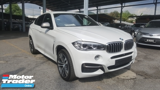 2015 BMW X6 M50d 3.0 Diesel UNREG 1 YEAR WARRANTY