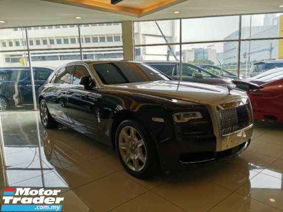 2017 ROLLS-ROYCE GHOST {NEW Car Condition} 2017 Rolls-Royce Ghost 6.6L Series II Extended Wheel Base {MILEAGE Only 416miles