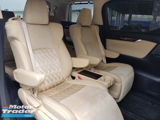 2016 TOYOTA VELLFIRE 2016 Toyota Vellfire 2.5 V Spec JBL Home Theater System Pre Crash Power Boot 2 Power Door 7 Seater Memeory Seat Unregister for sale