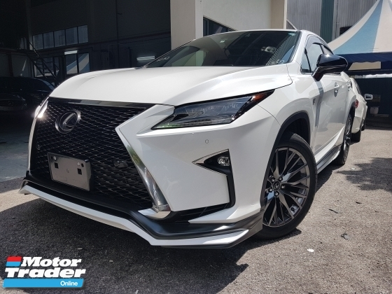2017 LEXUS RX 2017 Lexus RX200 F Sport Sun Roof Head Up Display Power Boot Full Leather TRD Bodykit Unreister for sale
