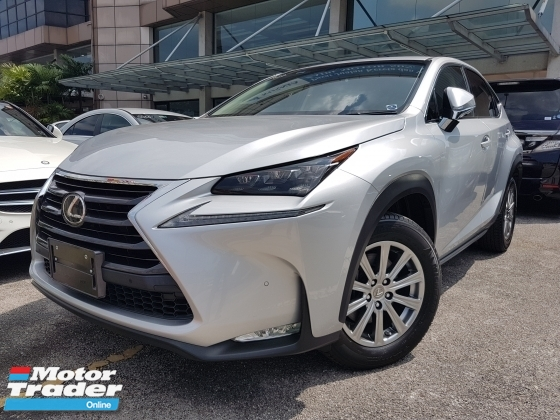 2015 LEXUS NX 2015 Lexus NX200T I Package Sun Roof Power Boot Full leather Unregister for sale