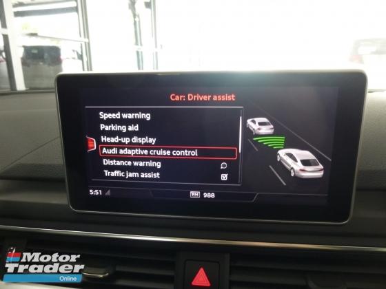 2017 AUDI A5 2.0 SportBack S.Line Full Spec. HIGHEST Grade CAR. Genuine Mileage Price NEGOTIABLE Provide WARRANTY