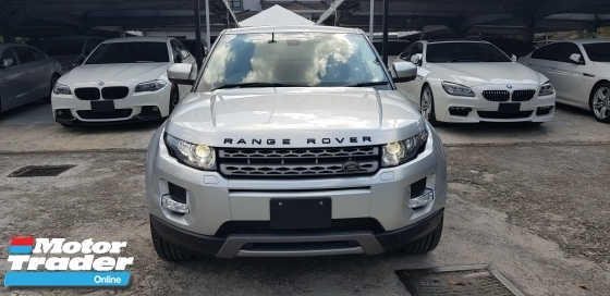 2014 LAND ROVER EVOQUE 2.0 UNREG JPN SPEC CARNIVAL SALES BIG OFFER RM183,000.00