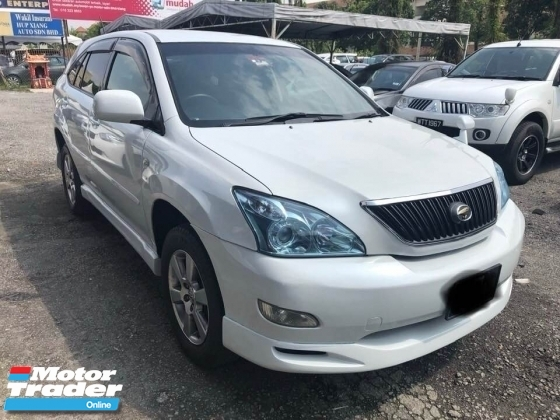 2006 TOYOTA HARRIER 2.4 (A) ONE CAREFUL OWNER