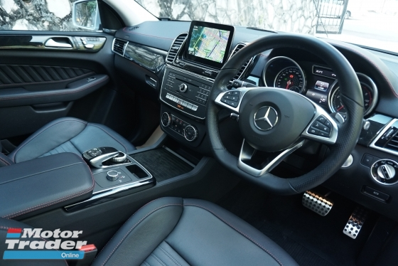 2016 MERCEDES-BENZ GLE 350d AMG / 9 SPEED / PANORAMIC SUNROOF / 4 CAMERA / PRE CRASH / BLIND SPOT