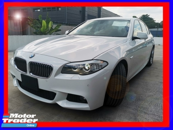2013 BMW 5 SERIES 523i MSPORT 2.0L LOW MILEAGE UNREG
