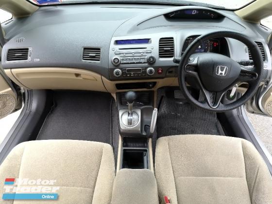2009 HONDA CIVIC 1.8 i-VTEC (A)1 OWNER