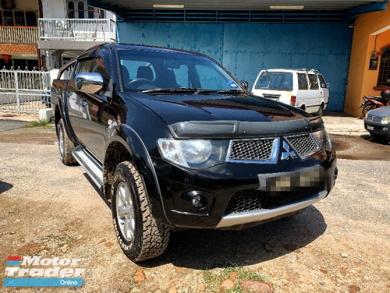 2010 MITSUBISHI TRITON 2.5 L200 FULL Spec(AUTO)2010 Only 1 Careful LADY Owner, 97K Mileage, TIPTOP, ACCIDENT-Free, with 2 AIRBEGs & BODYKIT