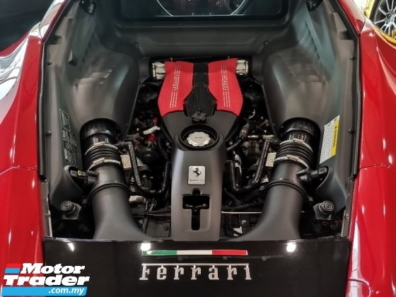2016 FERRARI 488 GTB 3.9 V8 TwinTurbo Full Option Spec. HIGHEST Grade CAR. Genuine Mileage. Price NEGOTIABLE. Lamborghini