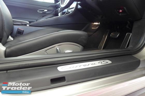 2014 PORSCHE 911 CARRERA 4S 3.8 PDK UNREG