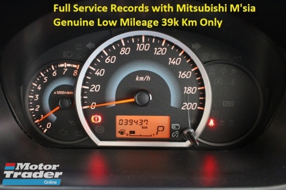 2015 MITSUBISHI MIRAGE 1.2 (A) SPORT EDITION (ORI YEAR MAKE 2015)(FULL SERVICE RECORD WITH MITSUBISHI MSIA)