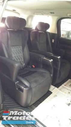 2015 TOYOTA VELLFIRE Unregistered Toyota Vellfire 2.5cc ZG (Black/2015) Basic spec